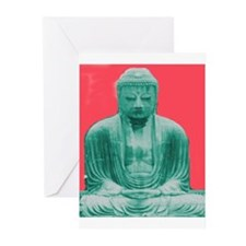 Jade Buddha Greeting Cards (Pk of 10)