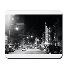 Unique Black and white photo Mousepad