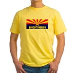 Boycott Mexico Yellow T-Shirt