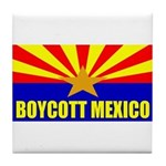 Boycott Mexico Tile Coaster