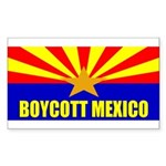 Boycott Mexico Sticker (Rectangle 10 pk)