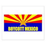 Boycott Mexico Small Poster