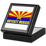 Boycott Mexico Keepsake Box