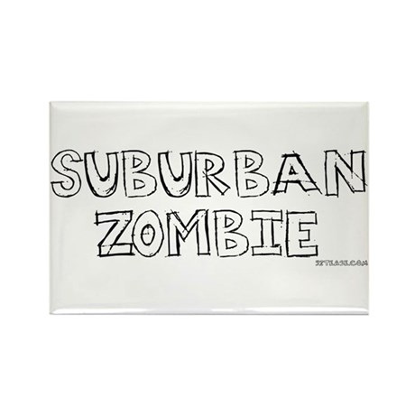 Suburban Pagan Rectangle Magnet