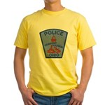 Fairport Police Yellow T-Shirt
