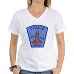 Fairport Police Women's V-Neck T-Shirt