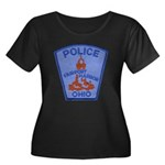 Fairport Police Women's Plus Size Scoop Neck Dark