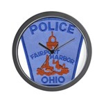 Fairport Police Wall Clock