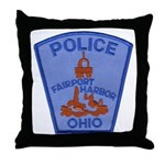Fairport Police Throw Pillow