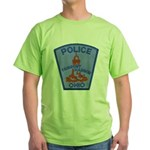 Fairport Police Green T-Shirt