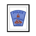 Fairport Police Framed Panel Print