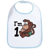 Cute One Year Old Bib