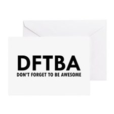 DFTBA Greeting Card