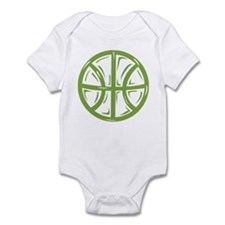 BASKETBALL *11* {green} Infant Bodysuit