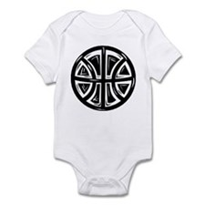BASKETBALL *12* {black} Infant Bodysuit
