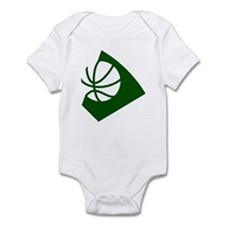 BASKETBALL *34* {green} Infant Bodysuit