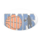 HOOPS *2* {blue} Decal