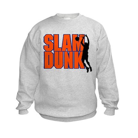 SLAM DUNK *2* {orange/blue} Kids Sweatshirt