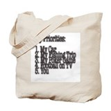 My Priorities Tote Bag