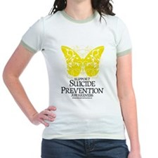 Suicide Prevention Butterfly T