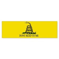 Unique Dont tread me Bumper Sticker