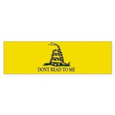 Cute Dont tread me Bumper Sticker