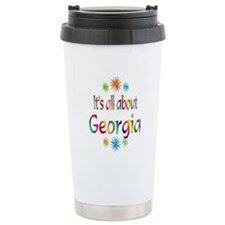 Georgia Ceramic Travel Mug