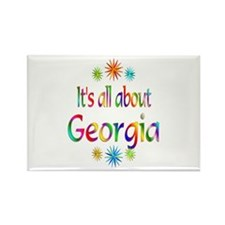 Georgia Rectangle Magnet (100 pack)