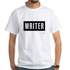 Writer White T-Shirt
