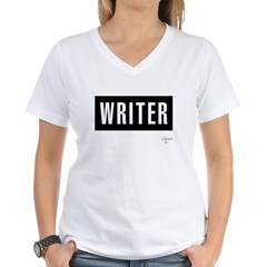 Writer Women's V-Neck T-Shirt