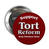 "Tort Reform 2.25"" Button (10 pack)"