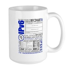 The Obviously Large IPv6 Mug