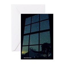 Dark Sky Window Greeting Cards (Pk of 10)