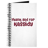 Thank God For Kassidy Journal