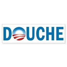 Obama - Douche Bumper Sticker