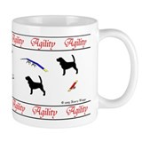 Beagles Love Agility Coffee Mug