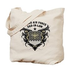 Proud Air Force Dad-in-law Tote Bag