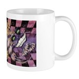 Alice &amp;amp; Cheshire (light) Small Mugs