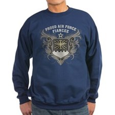 Proud Air Force Fiancee Sweatshirt