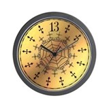 Cute 13 hours Wall Clock