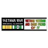 VIETNAM VETERAN Car Sticker