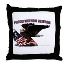PROUD VIETNAM VETERAN Throw Pillow