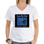 Jordan High School Panthers Women's V-Neck T-Shirt