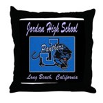 Jordan High School Panthers Throw Pillow