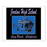 Jordan High School Panthers Small Poster