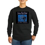 Jordan High School Panthers Long Sleeve Dark T-Shi