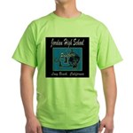 Jordan High School Panthers Green T-Shirt