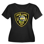 Avon Lake Police Women's Plus Size Scoop Neck Dark