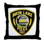 Avon Lake Police Throw Pillow