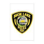 Avon Lake Police Mini Poster Print